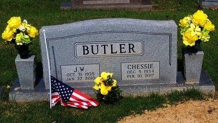 BUTLER, J.W. - Logan County, Arkansas | J.W. BUTLER - Arkansas Gravestone Photos