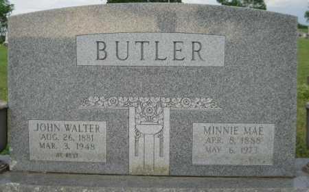 BUTLER, JOHN WALTER - Logan County, Arkansas | JOHN WALTER BUTLER - Arkansas Gravestone Photos