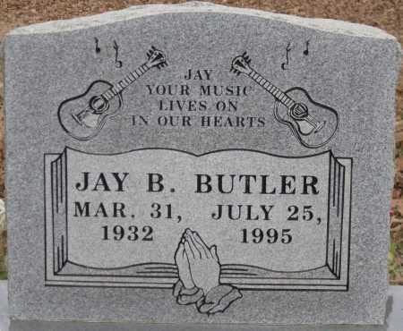BUTLER, JAY B. - Logan County, Arkansas | JAY B. BUTLER - Arkansas Gravestone Photos