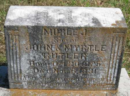 BUTLER, MURLE J. - Logan County, Arkansas | MURLE J. BUTLER - Arkansas Gravestone Photos