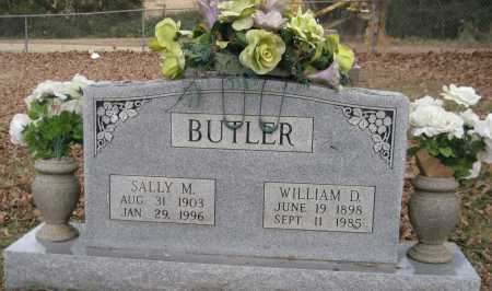 BUTLER, WILLIAM D. - Logan County, Arkansas | WILLIAM D. BUTLER - Arkansas Gravestone Photos