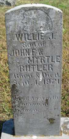 BUTLER, WILLIE J. - Logan County, Arkansas | WILLIE J. BUTLER - Arkansas Gravestone Photos
