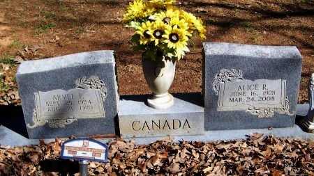 CANADA, ARVEL FAY - Logan County, Arkansas | ARVEL FAY CANADA - Arkansas Gravestone Photos