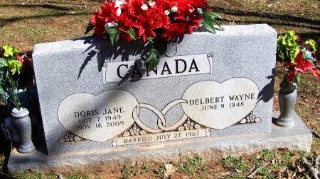 CANADA, DORIS JANE - Logan County, Arkansas | DORIS JANE CANADA - Arkansas Gravestone Photos