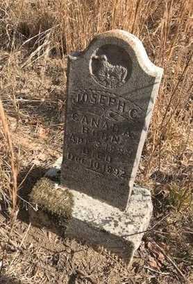 CANADA, JOSEPH C - Logan County, Arkansas   JOSEPH C CANADA - Arkansas Gravestone Photos