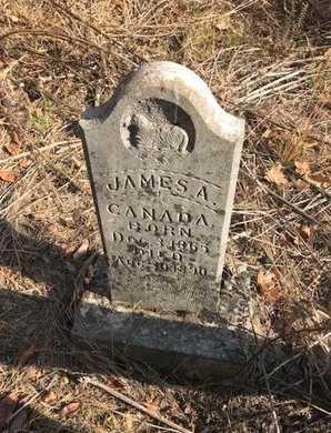 CANADA, JAMES A - Logan County, Arkansas   JAMES A CANADA - Arkansas Gravestone Photos