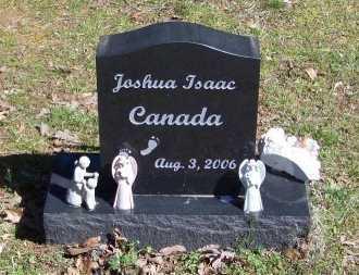 CANADA, JOSHUA ISAAC - Logan County, Arkansas | JOSHUA ISAAC CANADA - Arkansas Gravestone Photos