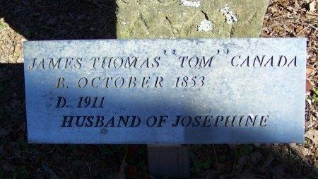 "CANADA, JAMES THOMAS ""TOM"" - Logan County, Arkansas   JAMES THOMAS ""TOM"" CANADA - Arkansas Gravestone Photos"
