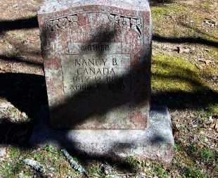 CANADA, NANCY B - Logan County, Arkansas | NANCY B CANADA - Arkansas Gravestone Photos