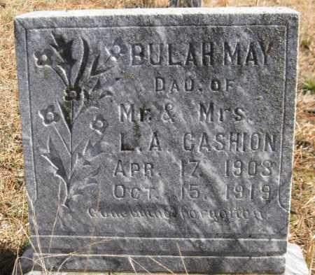 CASHION, BULAH MAY - Logan County, Arkansas | BULAH MAY CASHION - Arkansas Gravestone Photos