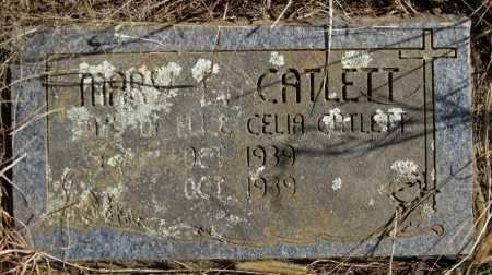 CATLETT, MARY L - Logan County, Arkansas | MARY L CATLETT - Arkansas Gravestone Photos