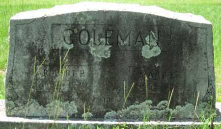 COLEMAN, ROBERT P. - Logan County, Arkansas | ROBERT P. COLEMAN - Arkansas Gravestone Photos