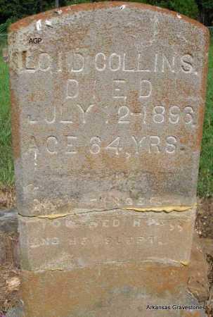 COLLINS, LOID - Logan County, Arkansas | LOID COLLINS - Arkansas Gravestone Photos