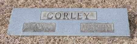 CORLEY, ALFRED VESTA - Logan County, Arkansas | ALFRED VESTA CORLEY - Arkansas Gravestone Photos