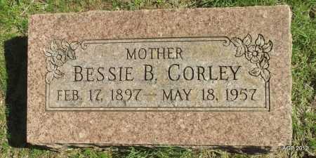 CORLEY, BESSIE BELLE - Logan County, Arkansas | BESSIE BELLE CORLEY - Arkansas Gravestone Photos