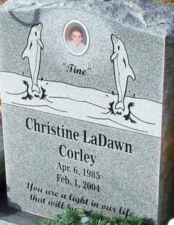 CORLEY, CHRISTINE LADAWN - Logan County, Arkansas | CHRISTINE LADAWN CORLEY - Arkansas Gravestone Photos