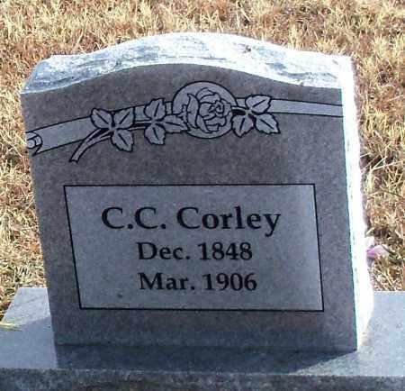 CORLEY, C.C. - Logan County, Arkansas | C.C. CORLEY - Arkansas Gravestone Photos