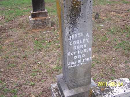 CORLEY, JESSE ALFRED` - Logan County, Arkansas | JESSE ALFRED` CORLEY - Arkansas Gravestone Photos