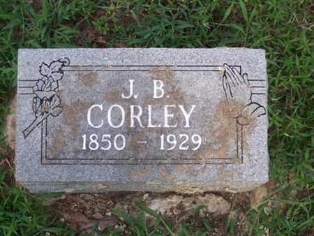 CORLEY, JOSIAH B - Logan County, Arkansas | JOSIAH B CORLEY - Arkansas Gravestone Photos