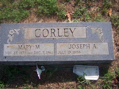 CORLEY, MARY M - Logan County, Arkansas | MARY M CORLEY - Arkansas Gravestone Photos