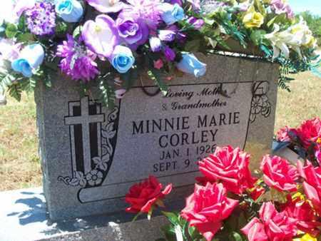 CORLEY, MINNIE MARIE - Logan County, Arkansas | MINNIE MARIE CORLEY - Arkansas Gravestone Photos