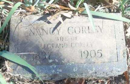 CORLEY, NANCY - Logan County, Arkansas | NANCY CORLEY - Arkansas Gravestone Photos