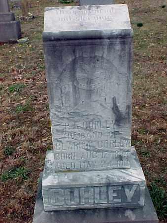 CORLEY, PORTER L - Logan County, Arkansas | PORTER L CORLEY - Arkansas Gravestone Photos