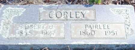CORLEY, ROBERT QUINCY - Logan County, Arkansas | ROBERT QUINCY CORLEY - Arkansas Gravestone Photos