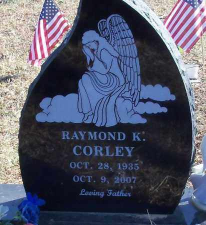 CORLEY, RAYMOND KENNETH - Logan County, Arkansas | RAYMOND KENNETH CORLEY - Arkansas Gravestone Photos