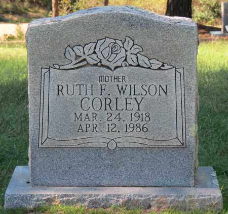 CORLEY, RUTH F - Logan County, Arkansas   RUTH F CORLEY - Arkansas Gravestone Photos