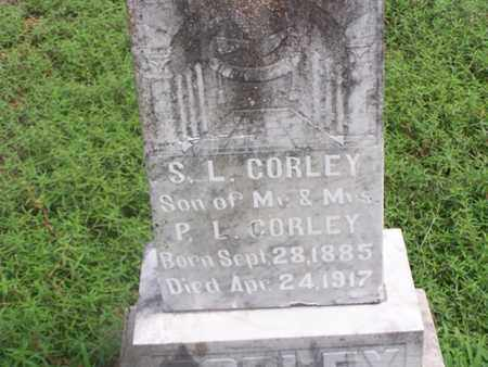 CORLEY, SHERMAN L - Logan County, Arkansas   SHERMAN L CORLEY - Arkansas Gravestone Photos