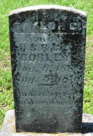 CORLEY, TAYLOR C. - Logan County, Arkansas | TAYLOR C. CORLEY - Arkansas Gravestone Photos