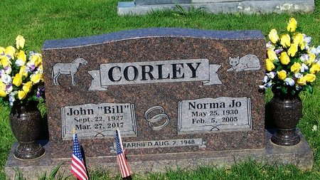 CORLEY, NORMA JO - Logan County, Arkansas   NORMA JO CORLEY - Arkansas Gravestone Photos