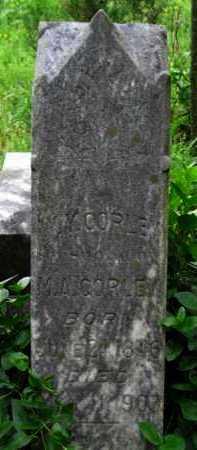 CORLEY, M  A - Logan County, Arkansas | M  A CORLEY - Arkansas Gravestone Photos