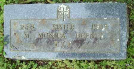 DOENGE, SISTER M MONICA - Logan County, Arkansas | SISTER M MONICA DOENGE - Arkansas Gravestone Photos