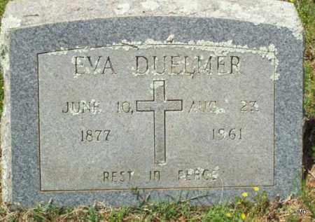 DUELMER, EVA - Logan County, Arkansas | EVA DUELMER - Arkansas Gravestone Photos
