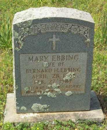EBBING, MARY - Logan County, Arkansas | MARY EBBING - Arkansas Gravestone Photos