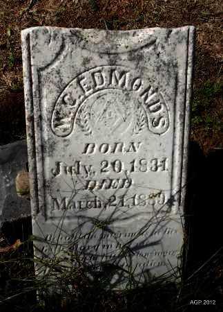 EDMONDS, W C - Logan County, Arkansas | W C EDMONDS - Arkansas Gravestone Photos