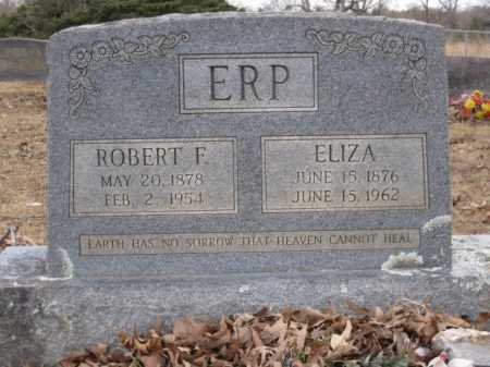 ERP, ELIZA - Logan County, Arkansas | ELIZA ERP - Arkansas Gravestone Photos