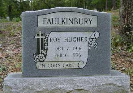 FAULKINBURY, ROY HUGHES - Logan County, Arkansas | ROY HUGHES FAULKINBURY - Arkansas Gravestone Photos