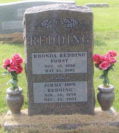 REDDING, JIMMY DON - Logan County, Arkansas | JIMMY DON REDDING - Arkansas Gravestone Photos