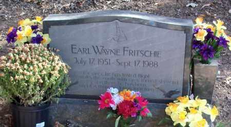 FRITSCHIE, EARL WAYNE - Logan County, Arkansas   EARL WAYNE FRITSCHIE - Arkansas Gravestone Photos