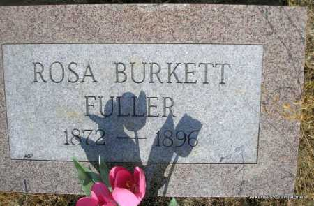 FULLER, ROSA - Logan County, Arkansas   ROSA FULLER - Arkansas Gravestone Photos