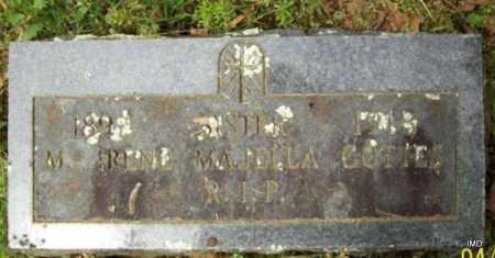 GOTTES, SISTER M IRENE MAJELLA - Logan County, Arkansas   SISTER M IRENE MAJELLA GOTTES - Arkansas Gravestone Photos