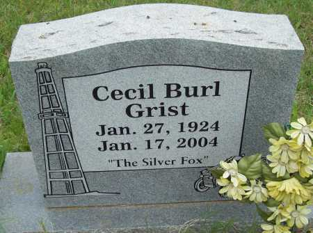 GRIST, CECIL BURL - Logan County, Arkansas | CECIL BURL GRIST - Arkansas Gravestone Photos