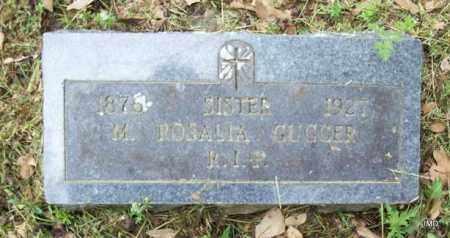 GUGGER, SISTER M ROSALIA - Logan County, Arkansas   SISTER M ROSALIA GUGGER - Arkansas Gravestone Photos