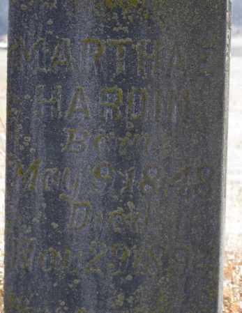 HARDIN, MARTHA E (CLOSEUP) - Logan County, Arkansas | MARTHA E (CLOSEUP) HARDIN - Arkansas Gravestone Photos