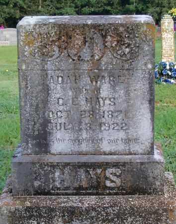 HAYS, ADAH - Logan County, Arkansas | ADAH HAYS - Arkansas Gravestone Photos