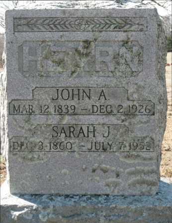 HEARN, SARAH J. - Logan County, Arkansas | SARAH J. HEARN - Arkansas Gravestone Photos