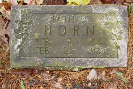 HORN, RUTH JANE - Logan County, Arkansas | RUTH JANE HORN - Arkansas Gravestone Photos
